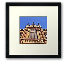 Gothic Revival Architecture. Framed Print