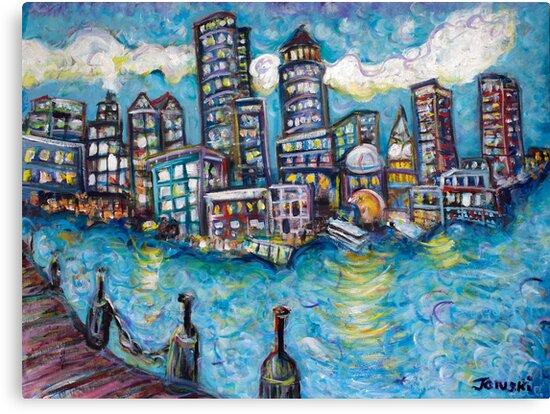Boston Harbor by Jason Gluskin