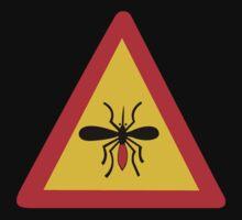 Beware of Mosquitoes, Traffic Sign, Finland Kids Tee