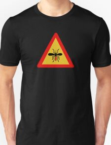 Beware of Mosquitoes, Traffic Sign, Finland T-Shirt