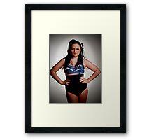 Bathing Belle Framed Print