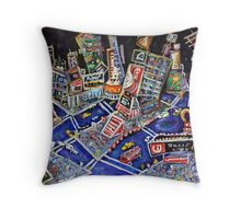 Midtown Magic Throw Pillow