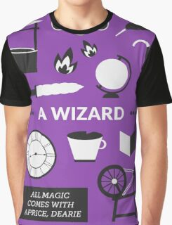 Once Upon A Time - A Wizard Graphic T-Shirt