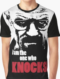 Breaking Bad - Heisenberg - I am the one who knocks! T-shirt Graphic T-Shirt