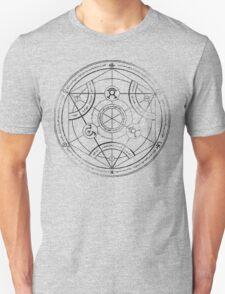 Human transmutation circle - charcoal T-Shirt