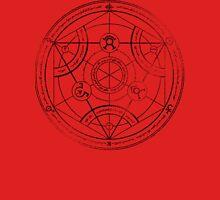 Human transmutation circle - charcoal Unisex T-Shirt