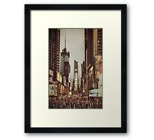 Into The Sea Of Souls Framed Print