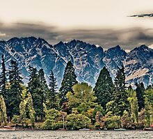 Lake Wakatipu, Queenstown I by elspiko