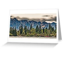 Lake Wakatipu, Queenstown I Greeting Card