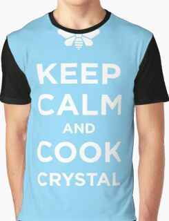 Keep Calm and Cook Crystal Graphic T-Shirt