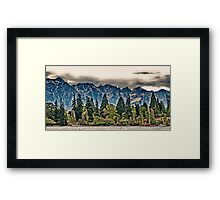 Lake Wakatipu, Queenstown III Framed Print