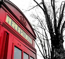 London Telephone Box by CalumCJL