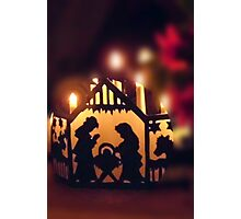 Frohe Weihnachten, Merry Christmas Photographic Print