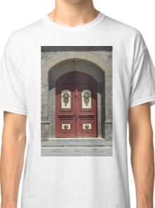 Red Wood Church Door Classic T-Shirt