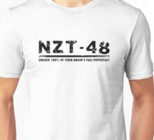 NZT (white tshirt) Unisex T-Shirt