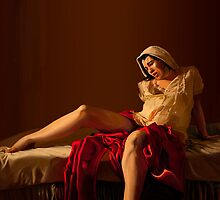 Madonna in Labor by Roland Millington