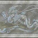 Moon Dragon by DawnAllies