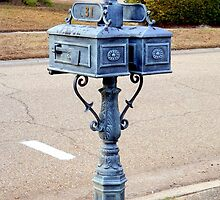 Old fashioned mailboxes by Scott Mitchell