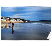 Pause For Reflection ~ Lyme Regis Poster