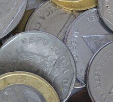 International Coins Sticker