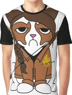 Grumpy Katniss Graphic T-Shirt