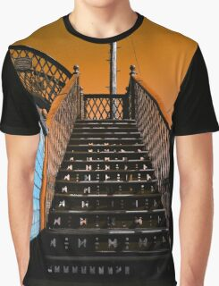 Steps Over The Line Graphic T-Shirt