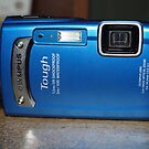 My new camera - Olympus TG-310: Tough in Blue by Joe Hupp