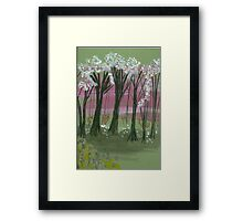 Spring Breeze Framed Print
