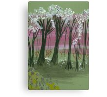 Spring Breeze Canvas Print