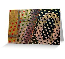 Polka Dot Fest Greeting Card