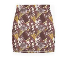 Sticky Ice-Cream (Chocolate) Mini Skirt
