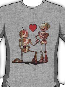 DIGITALOVE- red heart T-Shirt