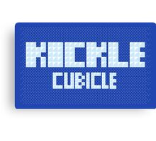 KICKLE CUBICLE Canvas Print