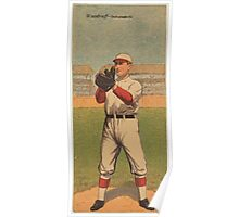 Benjamin K Edwards Collection Orville Woodruff Otto G Williams Indianapolis Team baseball card portrait Poster