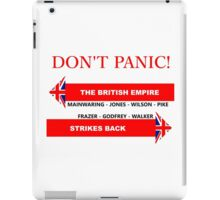 Dad's Army Don't Panic T Shirt and Hoodie iPad Case/Skin