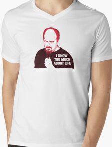Louis C.K. Mens V-Neck T-Shirt