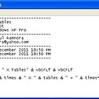 241211a - VBScript 12xTables program by paulramnora