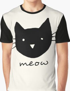 Meow. Graphic T-Shirt