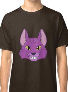 Violet Cat Grins Classic T-Shirt