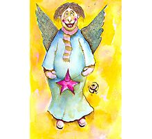 A Cross Eyed Angel for You Photographic Print