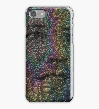 Psychedelic Faces - Trippy Psychedelic Posters iPhone Case/Skin