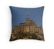 Mont St michel  Throw Pillow