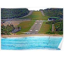 Short Landing Strip Poster