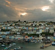 Brixham after the storm   by StephenRB
