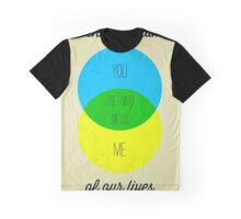 Venn diagram of our lives Graphic T-Shirt