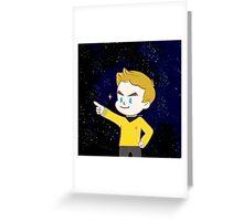 Star trek - James T. kirk Greeting Card