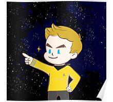 Star trek - James T. kirk Poster