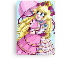Lolita Princess Peach Metal Print