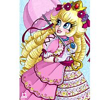 Lolita Princess Peach Photographic Print