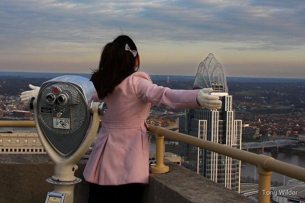 Titanic Moment - Carew Tower Cincinnati by Tony Wilder